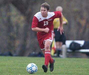 Senior Alan Bickel scored Wednesday's lone goal to give SXU the win