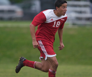 Junior Adrian Guzman got the game-winning goal Wednesday