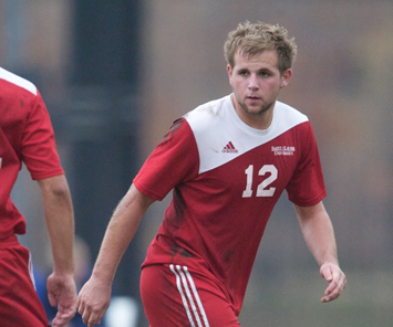 Junior forward Matt Klancic had two shots-on-goal for Saint Xavier