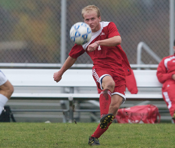 Junior Al Palar had one of SXU's two shots-on-goal Wednesday