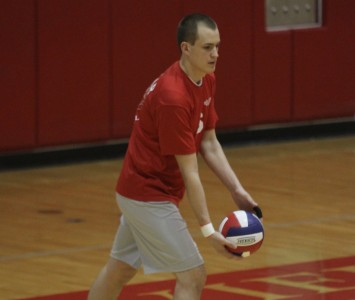 Junior Aaron Porter helped SXU pick up its first win of the 2012 season against Robert Morris
