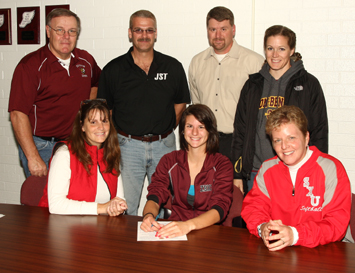 Shannon Lauret (bottom middle) will join the Cougars next fall