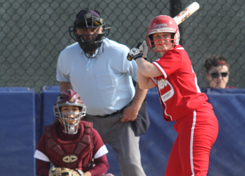 Junior Kate Mollohan had a combined six hits over the doubleheader with Robert Morris Tuesday
