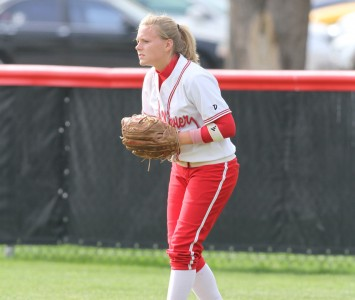 Former centerfielder Megan Paradzinski had one of the softball team's best GPAs