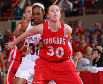 Junior Brittany Jones had 12 points and a career-high 19 rebounds Saturday