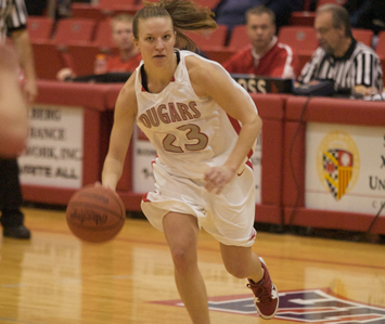 Junior Marissa Young - CCAC Women's Basketball Player of the Week
