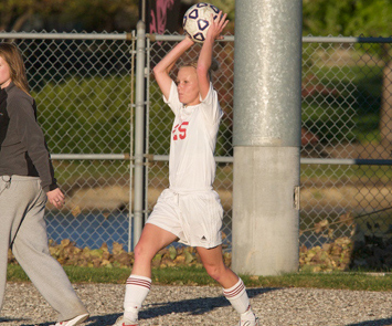 Junior Joanna Janulis scored an insurance goal for SXU Saturday