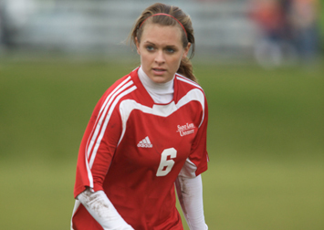 Senior Kelly Steinhaus scored the game-winning goal for Saint Xavier