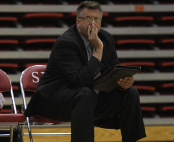 SXU Volleyball Coach Robert Heersema recently hit career win No. 500