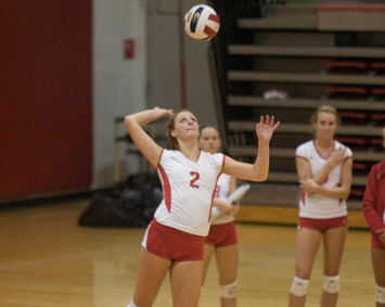 Sophomore Kayla Mullaney - CCAC Volleyball Player of the Week