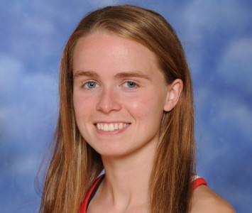 Senior Ashley Shares - CCAC Women's Cross Country Runner of the Week