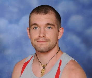 Senior Daniel Hasty made up part of the national qualifying SXU men's 4x800 meter relay team