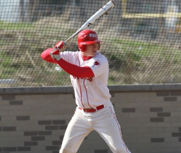 Sophomore Chris Klein was impressive with the bat and on the mound Tuesday against Judson