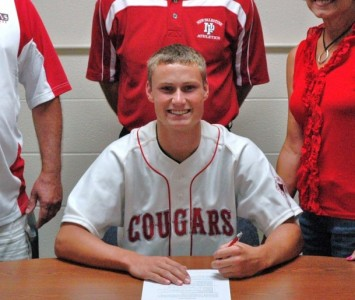 Tyler Peper will join the Cougars in 2012