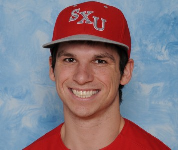 Junior Tony O'Shea led the SXU offense with three hits in Friday's loss to Judson