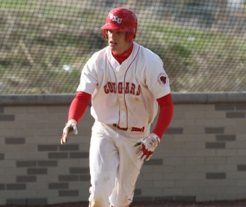 Junior Mike Pokers racked up four hits, including a double and a triple, Saturday against PUNC