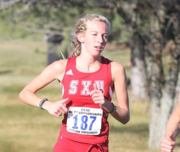 Senior Rachael Dean took third overall at the Midwest Classic Friday