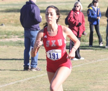 Junior Jackie Ott had a season-best time of 19:19 Saturday in California