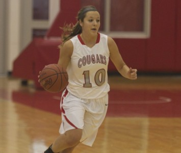 Freshman Morgan Stuut led all scorers with 16 points to go along with six assists Saturday