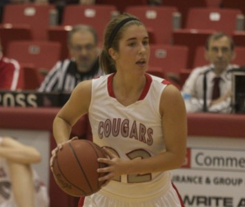 Freshman Suzie Broski hit two free throws with 10 seconds left to help seal Saturday's win