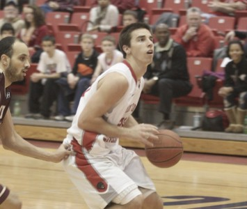 Junior guard Brad Karp had 21 points and seven rebounds in SXU's season opener Tuesday