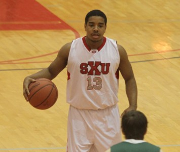 Junior Roosevelt Green had 24 points and seven steals Wednesday in SXU's win over TIU