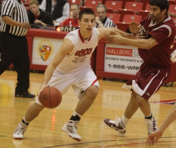 Sophomore Brad Karp is on the 2011-12 Capital One Academic All-District Team