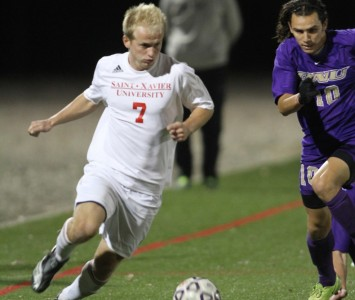 Senior Al Palar had another big game for SXU with a goal and three assists Wednesday