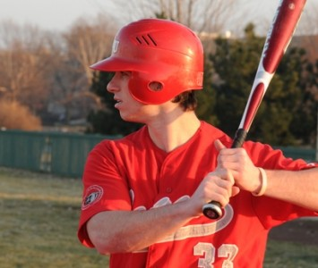 Junior Tony O'Shea had a big weekend for Cougar baseball offensively