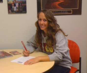 Pederson will join the SXU softball team starting in the fall of 2012
