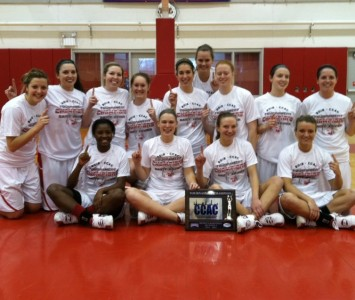 The Cougars have now won four straight CCAC Tournament titles