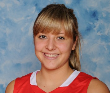 Freshman Morgan Stuut earned a spot on the SXU Holiday All-Tournament Team