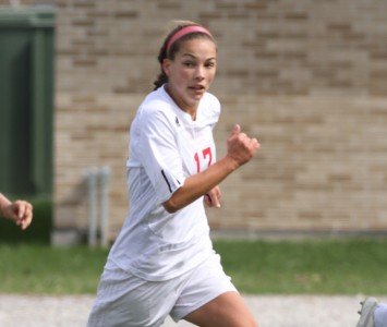 Junior Sara Cervenka had two shots on goal for the Cougars Monday