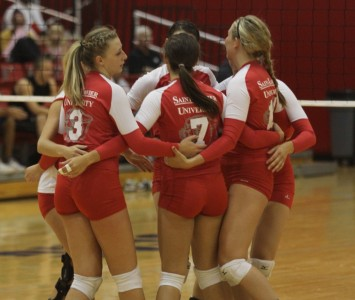The Cougars suffered just their fourth loss of the season Friday to Saint Ambrose
