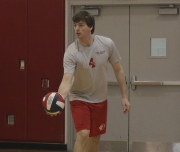 Junior Joe Zahalka had seven kills and 11 digs for the Cougars Thursday night against MSOE