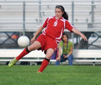 Mother McAuley's Christina Sperando has signed with Saint Xavier University