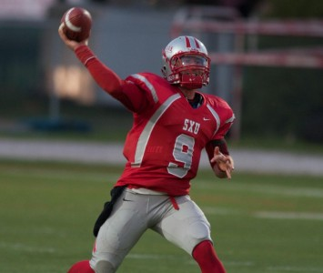 Senior quarterback Jimmy Coy - AFCA-NAIA All-America Team