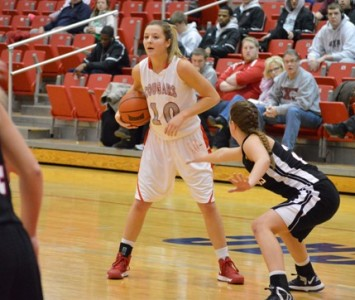 Sophomore Morgan Stuut got her 18th double-double of the season with 20 points and 11 rebounds Wednesday