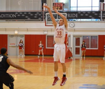 Sophomore Jack Krieger scored 15 points to lead Saint Xavier over IUSB in the CCAC Semis