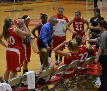 The Saint Xavier women's basketball team is gearing up to take on St. Thomas University (Fla.) on Wednesday, March 6