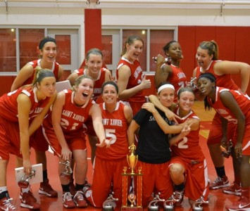 Saint Xavier wins the SXU Holiday Tournament after defeating University of Saint Francis (Ind.), 78-61, Saturday