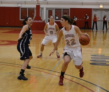 Sophomore Suzie Broski scored 25 points on 12-of-15 shooting Wednesday night against Robert Morris