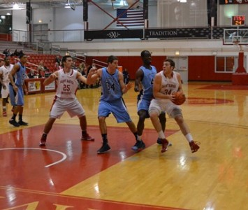 The SXU men's basketball team heads into the NAIA National Championships ranked No. 7 in the nation