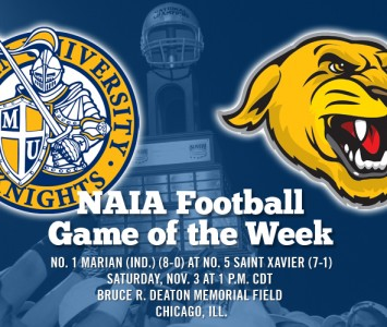 With both teams ranked in the NAIA's top five, Saturday's game should be a classic