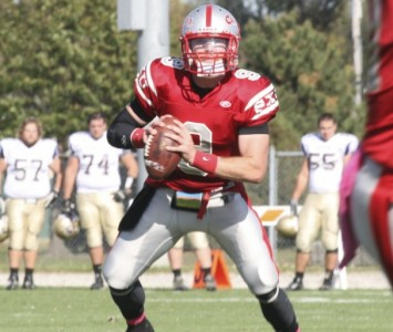 SXU former QB Jimmy Coy has signed with the Calgary Stampeders for the 2013 season