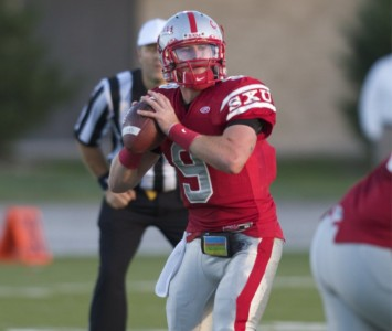 Former SXU standout quarterback Jimmy Coy was invited to the Chicago Bears rookie minicamp in May