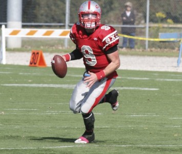 Senior quarterback Jimmy Coy will lead the SXU offense into the postseason