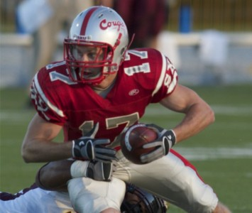Senior receiver Corey Wennmacher will help lead the Cougars against Cumberlands (Ky.)