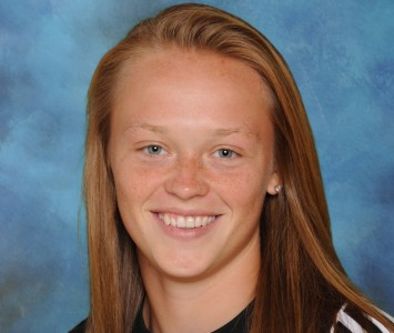 Freshman goalkeeper Cortney Jerzy