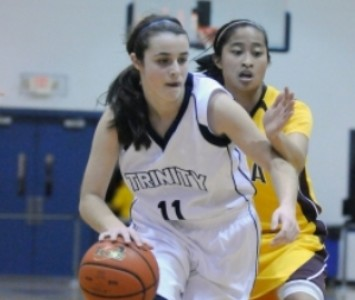 Trinity's Makayla Leyden will join the Saint Xavier women's basketball roster next fall